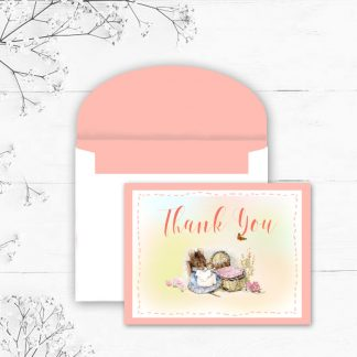 Card-Front-and-Envelope-Beatrix-Potter-Baby-Thank-You-Note-kimenink