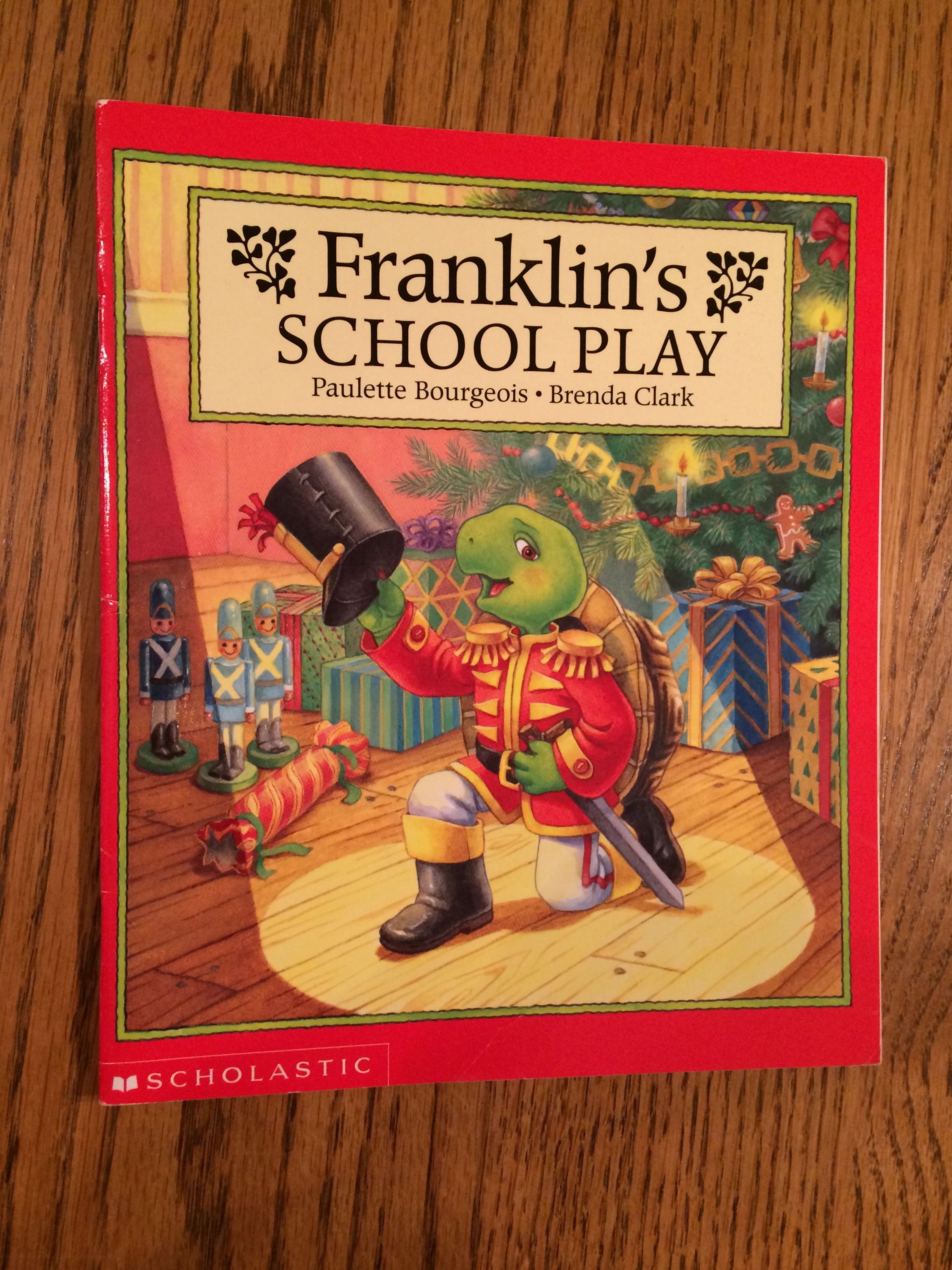 Franklin U2019s School Play By Paulette Bourgeois  Softcover
