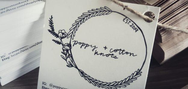 Poppy+Cotton Knots