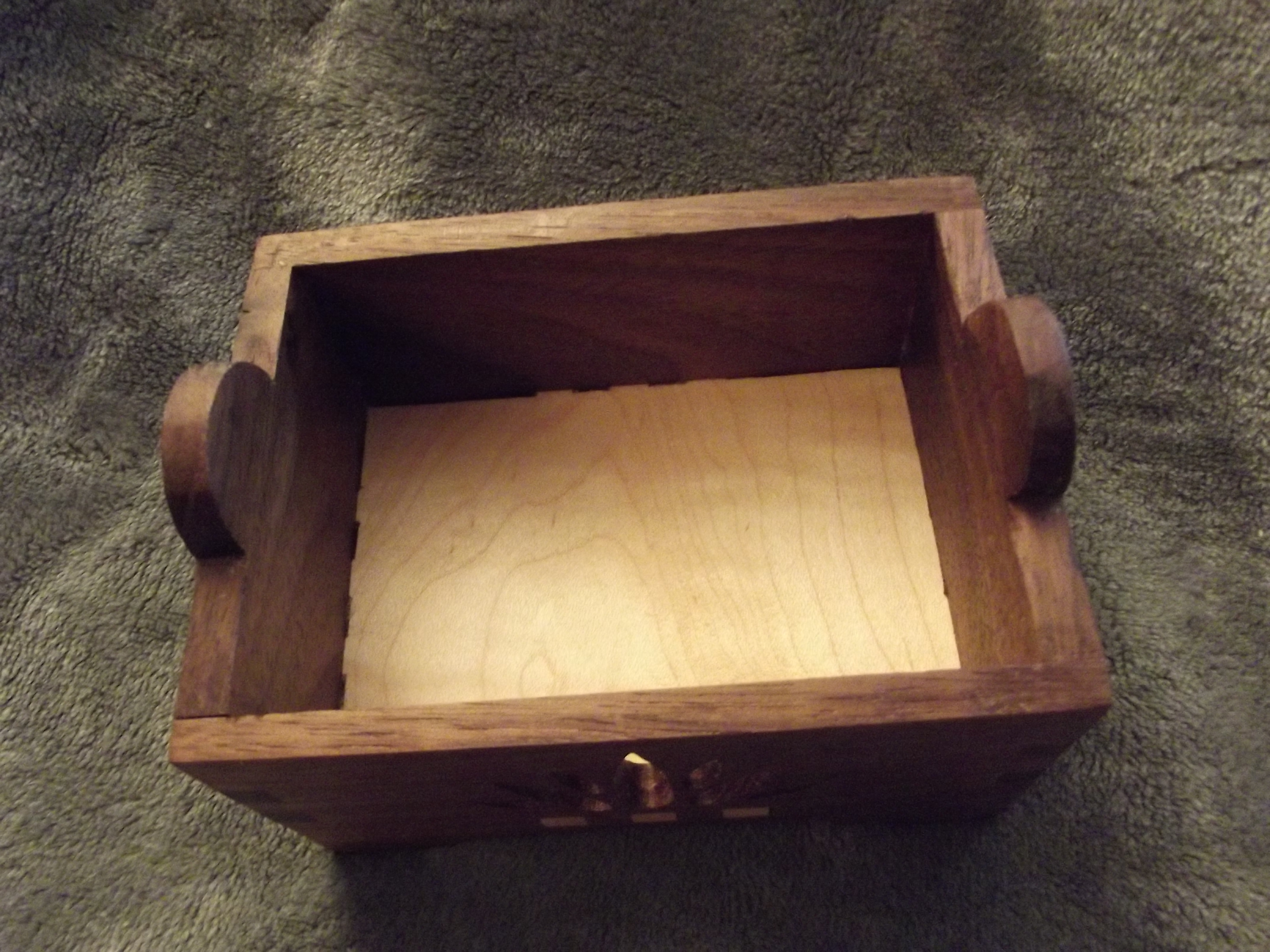 Small Flat Top Trinket Box