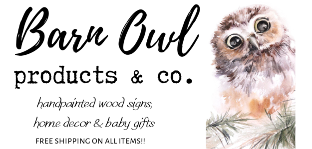 Barn Owl Products & Co. Free shipping