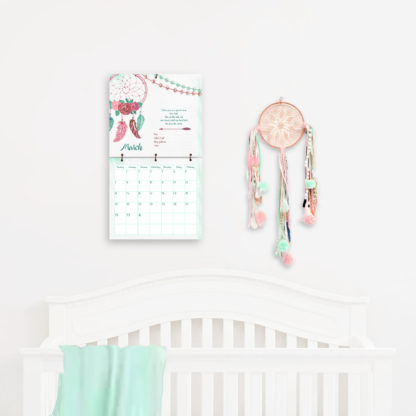 Little-Dreamer-Tribal Style Baby's-First-Year-Calendar-photo-kimenink