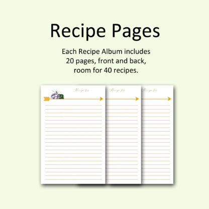 recipe-pages-Geo-Gold-Recipe-Album kimenink