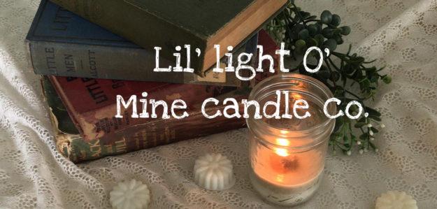 Lil' light O' mine candle co.