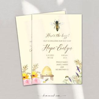 The-Buzz-Honeybee-Birth-Announcement-f-kimenink-com
