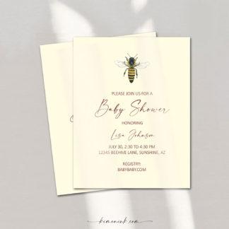 Queen-Bee-birth-announcement-kimenink-com