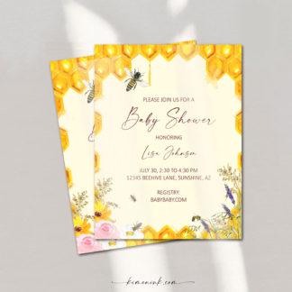 The-Buzz-Baby-Shower-Invitation-kimenink-com